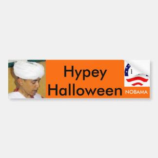 Hypey Halloween Bumper Sticker