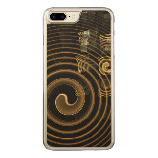 Hypnosis Abstract Art Carved iPhone 8 Plus/7 Plus Case