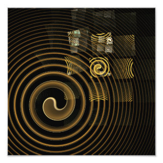 Hypnosis Abstract Art Photo Print