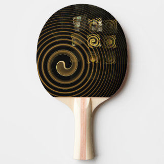 Hypnosis Abstract Art Ping Pong Paddle
