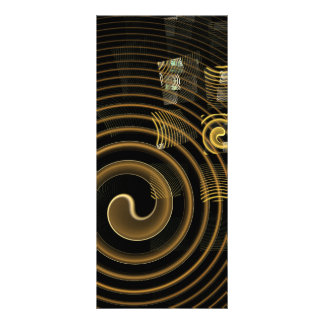Hypnosis Abstract Art Rack Card