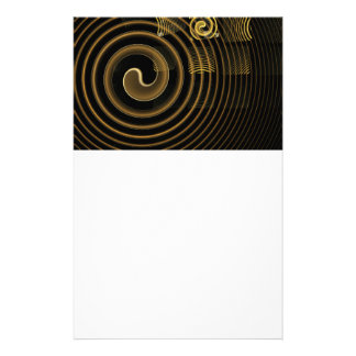 Hypnosis Abstract Art Stationery