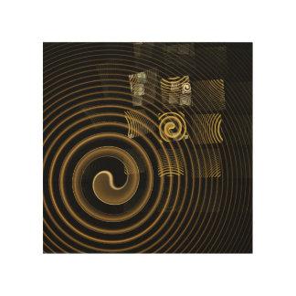 Hypnosis Abstract Art Wood Prints
