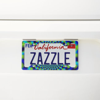 Hypnosis License Plate Frame #2