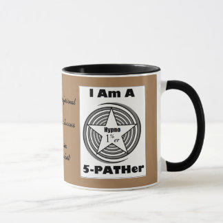 Hypnosis Mug for 5-PATH 1%ers (Brown and Black)