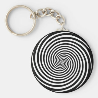 Hypnosis Spiral Key Ring
