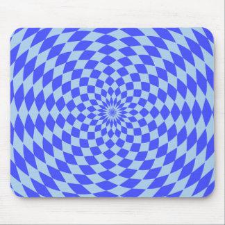 Hypnotic Blue Mousepad