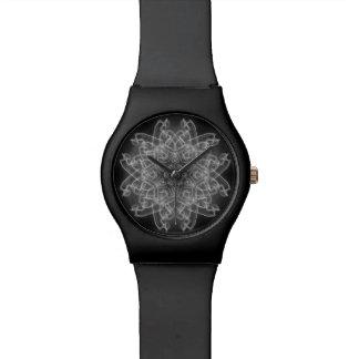 Hypnotic Clock Wristwatch