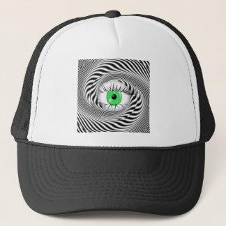 HYPNOTIC EYE - HYPNOTIST TRUCKER HAT
