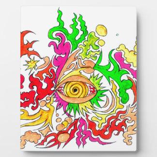 Hypnotic Eye Plaque