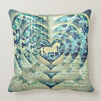 Hypnotic Horse Cushion