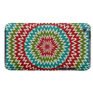 Hypnotic mandalaic flower iPod touch cover