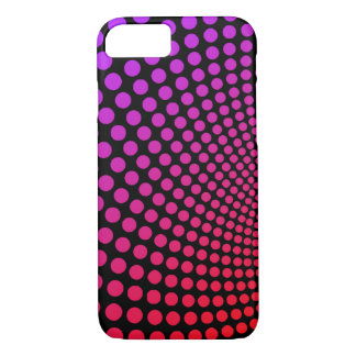 Hypnotic Psychedelic Polka Dots Pop Art iPhone 7 Case