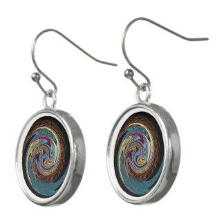 Hypnotic Rotating Stars Earrings