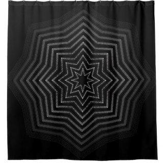 Hypnotic Star Shower Curtain
