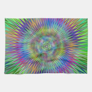 Hypnotic stars tea towel