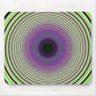 Hypnotic Swirl Mouse Pad