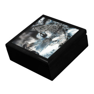 Hypnotic - Wolf Wood And Tile Box