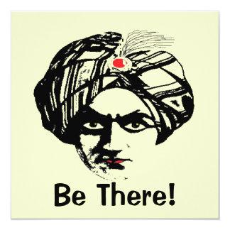 Hypnotica, Be There! 5.25x5.25 Square Paper Invitation Card