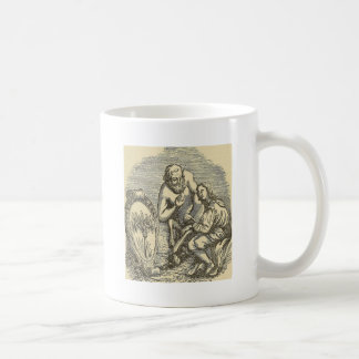 Hypnotism Drawing with Mirror Coffee Mug