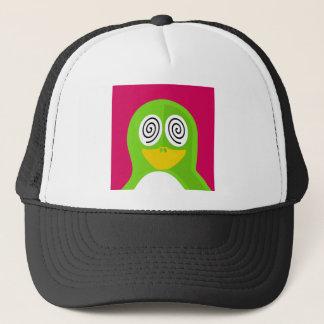 Hypnotized Penguin Trucker Hat