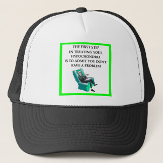 hypochondria trucker hat