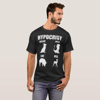Hypocrisy Rescue Pitty Eat Kill Gift Tee