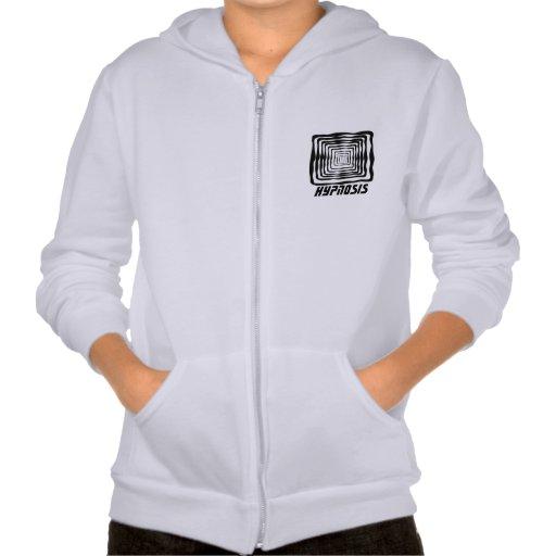 hyponisi fleece zip hoodi hooded pullovers