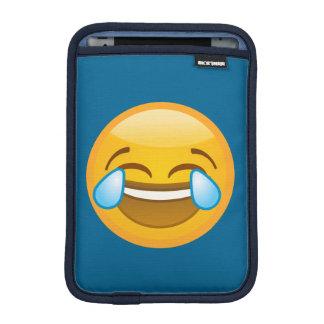 Hysterically Laughing Emoj iPad Mini Sleeve