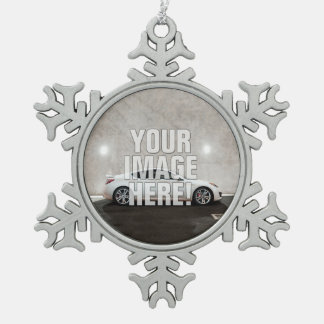 Hyundai Genesis Coupe photo - Add your car! Snowflake Pewter Christmas Ornament