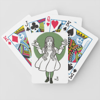 i027_wizard bicycle playing cards