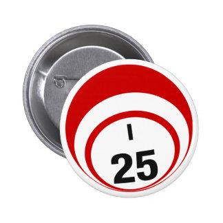 I25 Bingo Ball button
