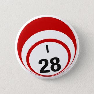 I28 Bingo Ball button
