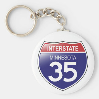 I-35 Minnesota Keychain