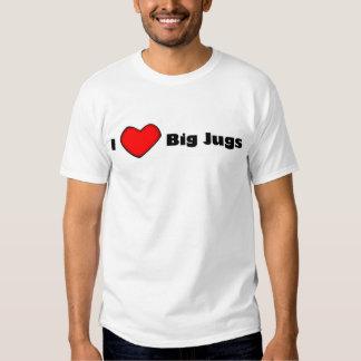 I <3 Big Jugs T Shirt
