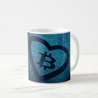 I <3 Bitcoin Coffee Mug. Coffee Mug