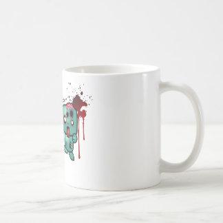 I <3 doubletaps- Zombies are everywhere Basic White Mug