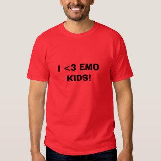 I <3 EMO KIDS! TEE SHIRT