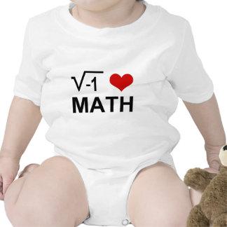 I <3 MATH BABY BODYSUIT