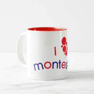 I <3 Montessori Mug