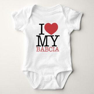 I <3 My Babcia Baby Bodysuit