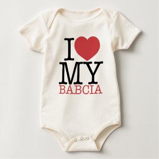 I <3 My Babcia Baby Creeper
