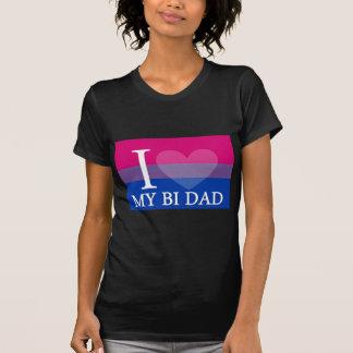 I <3 My Bi Dad Shirts