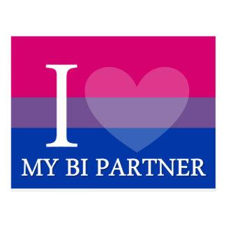 I <3 My Bi Partner Post Cards