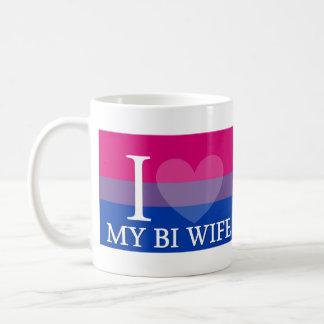 I <3 My Bi Wife Coffee Mug