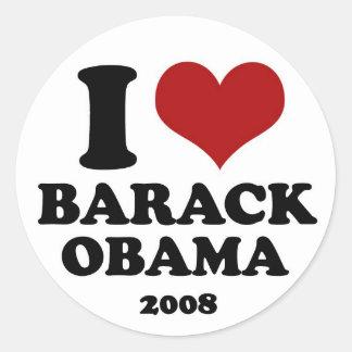 I <3 OBAMA - sticker