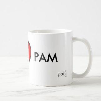 I <3 PAM COFFEE MUG
