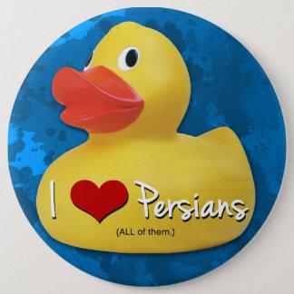 I <3 Persians! 6 Cm Round Badge