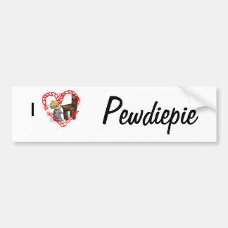 I 3 Pewdiepie Bumper Sticker