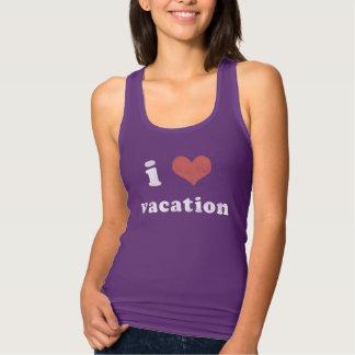 I <3 Vacation Singlet
